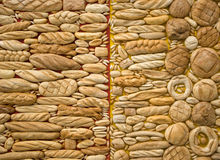 Bread and bakeries backgrounds. Fragment of contemporary art installation Stock Photo