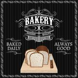 Bread for a bakery. Background with bread for a bakery Stock Images