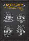 Bread and bakery design. Sketch, doodle vector. Royalty Free Stock Image