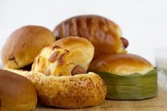 Bread bakery. Homemade healthier food Royalty Free Stock Photos