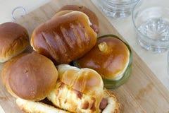 Bread bakery. Homemade healthier food Royalty Free Stock Photography