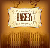 Bread. Bakery. labels, pack for bread. Labels, pack for bread wheat ear of wheat Royalty Free Stock Image