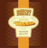 Bread. Bakery. labels, pack for s. Labels, pack for spaghetti, pasta bread Royalty Free Illustration