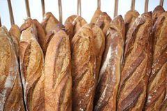 Bread in a bakery Stock Images