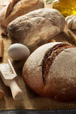 Bread and bakery products Royalty Free Stock Photography