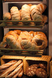 Bread in the bakery Royalty Free Stock Photo