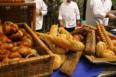 Bread baking Royalty Free Stock Photography