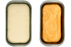 Bread baking Stock Photo