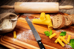 Bread baking set Stock Image