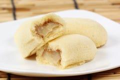 Bread with Banana Jam Royalty Free Stock Photos