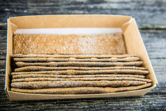 Bread bands in box Royalty Free Stock Image
