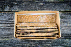 Bread bands in box Royalty Free Stock Images