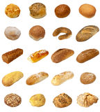 Bread and Bap selection Royalty Free Stock Images