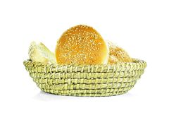 Bread Basket Royalty Free Stock Image
