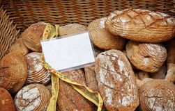 Bread in a basket. Royalty Free Stock Image