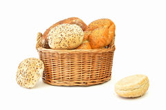 Bread basket Stock Image