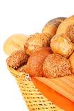Bread in a basket Stock Photos
