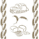 Bread in the basket Royalty Free Stock Images
