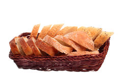 Bread basket Royalty Free Stock Photo