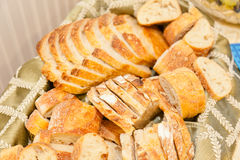 Bread basket Royalty Free Stock Photography