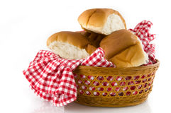 Bread in a basket Royalty Free Stock Images
