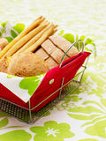 Bread basket Royalty Free Stock Photos