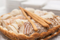 Bread basket Stock Images