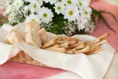 Bread basket Stock Images