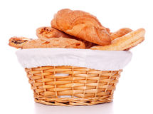 Bread Basket Stock Photo