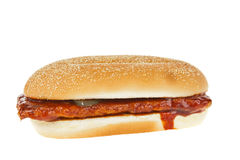 Bread, big sandwich hamburger Royalty Free Stock Photo