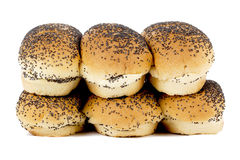 Bread with black sesame Royalty Free Stock Image