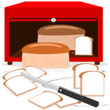 The bread box Royalty Free Stock Images