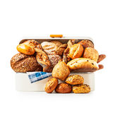 Bread box Stock Images
