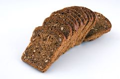 Bread with bran Stock Images