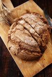 Bread with bran Stock Photo