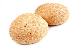 Bread with bran Royalty Free Stock Photos