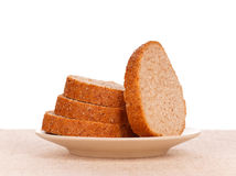 Bread with bran Royalty Free Stock Images