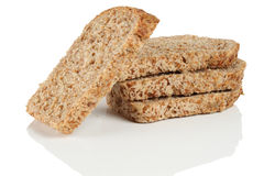 Bread with bran. Stock Photos