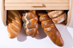 Bread and bread-basket Royalty Free Stock Image