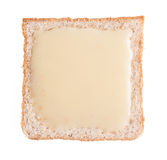 Bread. bread with condensed milk on a background Stock Photos