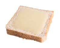 Bread. bread with condensed milk on a background Royalty Free Stock Images