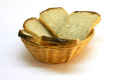 Bread in the breadbasket Stock Photography