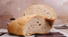 Bread but breakfast. Best breakfast for your morning royalty free stock images