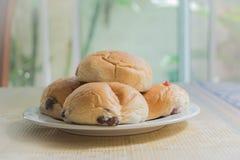 Bread breakfast Stock Images