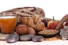 BREAD AND BREAKFAST Stock Image