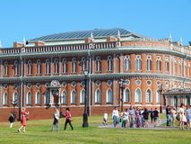 Bread Building in the Tsaritsyno museum and reserve. Tsaritsyno park in Moscow. July, 2014 Royalty Free Stock Photos