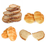 Bread and bun set Stock Image