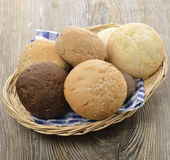 Bread Buns Assortment Royalty Free Stock Photos