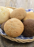 Bread Buns Assortment Royalty Free Stock Photo