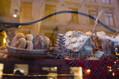Bread and buns in bakery Royalty Free Stock Photography
